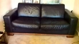 Free Brown Leather Sofa Bed