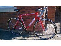 "Raleigh Designed Avenir Aspire Road Bike - 22"" HT Compact Aluminium Frame RRP £300"
