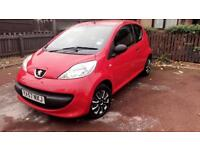 PEUGEOT 107 URBAN 2008 ONE OWNER