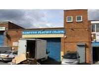**WAREHOUSE AVAILABLE FLEXIBLE LEASE TERMS - NEW SUMMER STREET, NEWTOWN 7,900 sq ft**