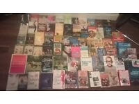 FOR SALE...JOB LOT OF 70 BOOKS , GOOD CONDITION