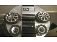 Alpine amps and speakers /amp V12 model MRV-T303: + 3547
