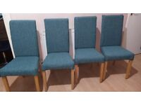 Marks & Spencer dining chairs 4x