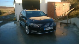 VW Passat estate 2014(64) Full VW service history, balance of manufacturers warranty