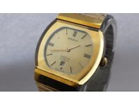 MENS RADO 565.0106.3 Diastar Automatic Swiss Made Gold Watch