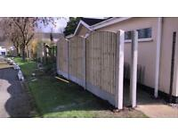 🐛Heavy Duty Tanalised Wooden Garden Fence Panels ~ Various Styles