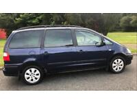AUTOMATIC DIESEL 7 SEATER FORD GALAXY 1.9L (2002) long mot WITH TOW BAR