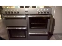 Belling Electric Range Cooker with Ceramic Hob