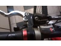 HOPE Hydrolic rear brake