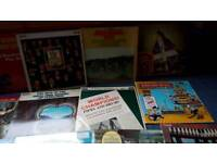 Collectors Scottish pipe and drums LP's