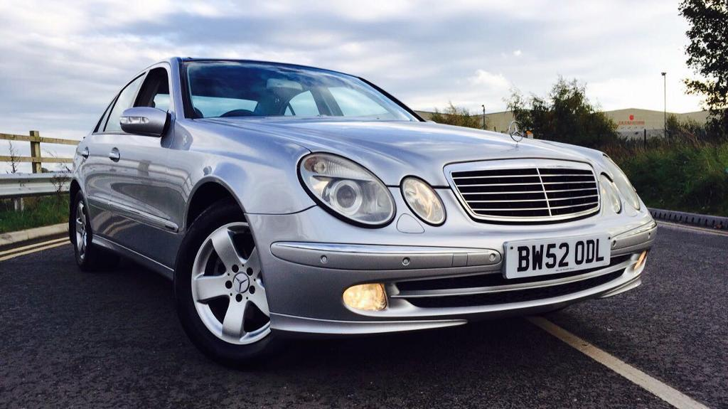 MERCEDES E270 CDI AVANTGARDE AUTO HPI CLEAR TOP SPEC PAN ROOF LEATHER HEATED SEATS