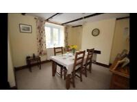 M&S dining table and chairs