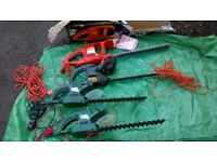 HEDGE TRIMMERS/LAWNRAKER/STRIMMERS/LAWNFEEDER/HANDTOOLS/SHEARS ETC JOBLOT/OR INDIVIDUALLY.