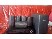 Philips cinema surround sound system 500watts