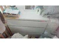 white drawer
