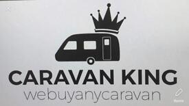 CaravanKING. We buy any caravan. Best prices paid in CASH. Anything considered all areas covered
