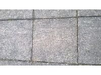 Used Concrete Paving Slabs (approx. 40)