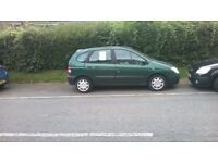 Renault Scenic. 11 months Mot. 94,200 miles. Only hsd 2 owners.