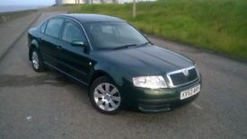 SKODA SUPERB 1.8T ONLY 52000 MILES SERVICE HISTORY