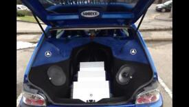 Saxo VTR JL Audio Show Car