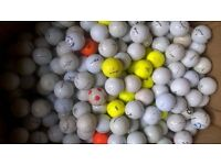400 golf balls...for practice