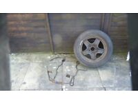 spare wheel plus carrier for vauxhall zafira eas to fit