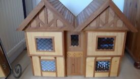 Lovely Wooden Dolls House