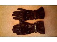 Ladies motorcycle gloves