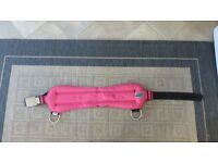 Pink Hydro Tech Lead Shot weight belt with lead shot