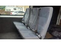 Mk7 crew cab seat x3