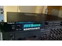 Roland JV 880 with Vintage Synth Expansion Board Fitted, Serviced new battery fitted, Fully Working