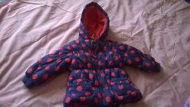 TODDLERS PADDED COAT FROM NEXT