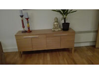 Two brand new pieces of furniture for sale due to relocation, sideboard and one seat sofa