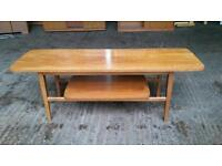 Solid Wood Retro Coffee Table