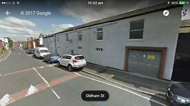 Offices and workshop garage storage unit to let hyde town centre