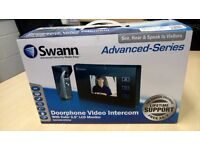 """SWAN DOORPHONE VIDEO INTERCOM - WITH 3.5"""" COLOR LCD MONITOR - EXCELLENT CONDITION"""