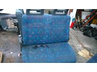 Iveco daily passengers side front double seat, will fit year from 2000-2006