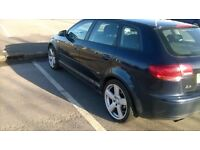 Audi A3 TDI 2.0, 2006, 06, 5 doors, mot, 2 keys, two former keepers, some service history for £1750