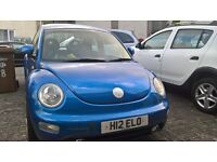 VW BEETLE FOR SALE low mileage