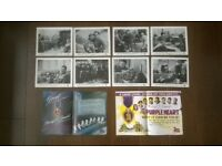the purple heart ( 1944 ) ' original ( full set of 8 ) f.o.h ( lobby cards ) cinema stills