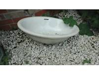 Small sink . Plant pot