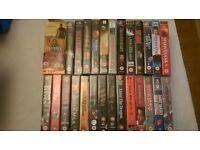 Box of VHS videos