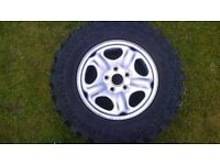 tyres chunky bran new