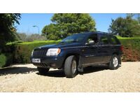 LPG/Jeep Grand Cherokee V8 Full Service History + supporting MOTs - Well cared for condition.