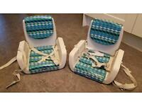 2x Chicco 'mode' booster seats / high chairs