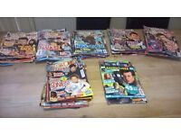 Collection of Doctor Who Adventures Magazines, Books and Trading Cards