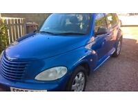 Chrysler PT Cruiser Touring 2.2CRD. Blue. MOT April 2019.