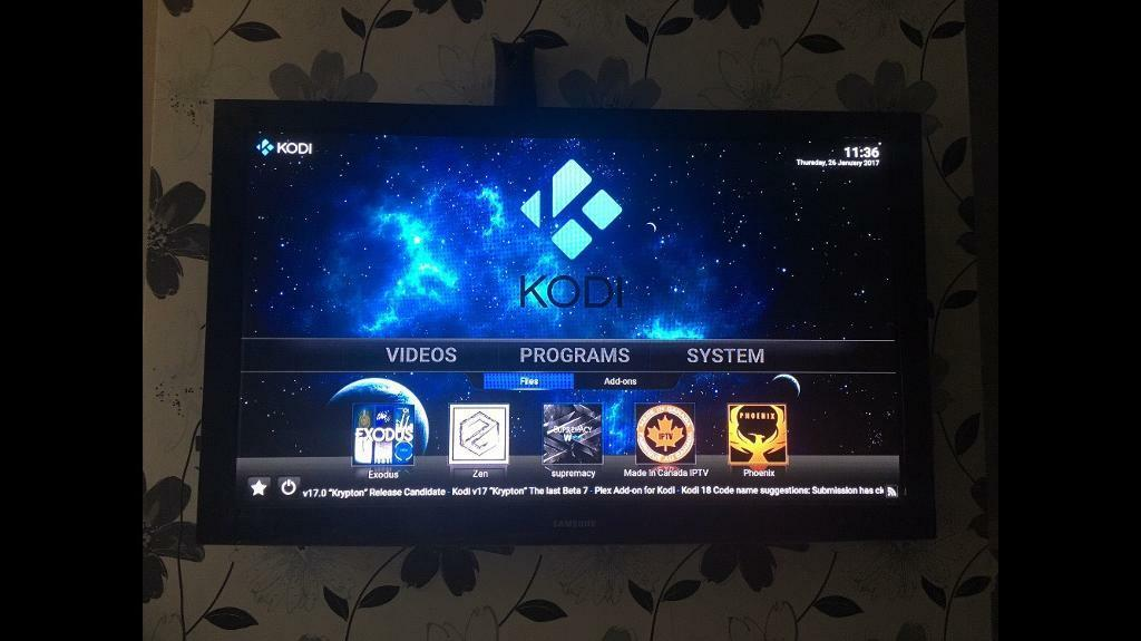 Amazon TV FireStick Kodi 17 install or update only Modbro Showbox FireStarterin Salford, ManchesterGumtree - Amazon TV FireStick Kodi 16.1 install or update only Modbro Showbox FireStarter KODI 16.1 and FIRESTARTER Amazon Fire stick install onlyAmazon KODI and FIRESTARTER installer INCLUDES ADDON INSTALLER You can add other Add ons with the installer.You...