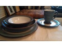 Beautiful Denby Dinner Service STORM design - Hardly used, mint condition, GREAT PRICE