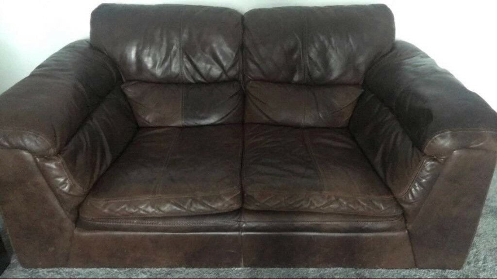2ebae585a29b Urgent Sale - DFS 3 Piece Leather Sofa Suite | in Walthamstow ...